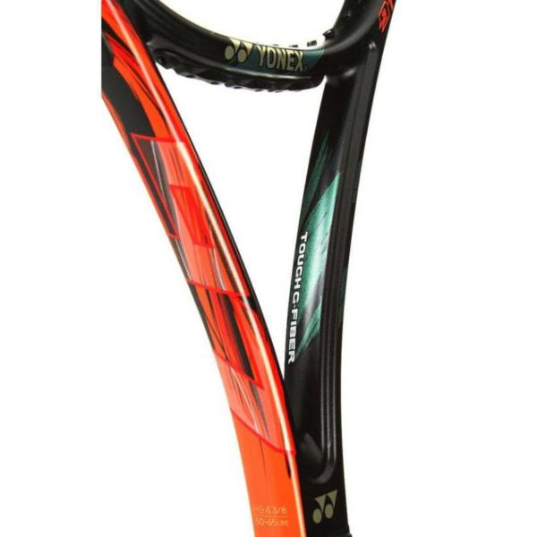 Yonex Vcore Duel G 100 Unstrung Tennis Racquet(Orange, 300gm)