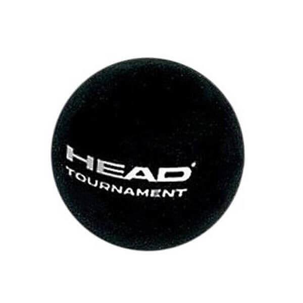 HEAD Tournament Single Dot Squash Ball- One Dozen