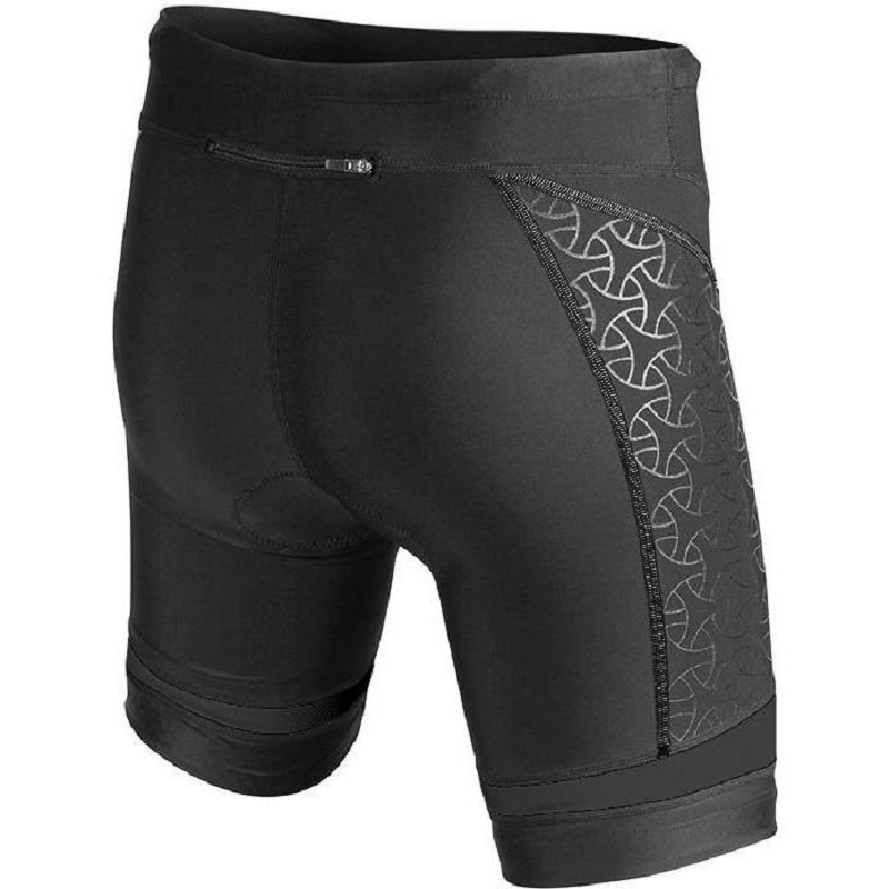 TYR Sport Mens Sport Competitor 9-Inch Tri Compression Shorts