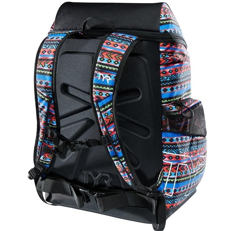 TYR ALLIANCE 45L Swim Bag Backpack SANTA FE PRINT NEW