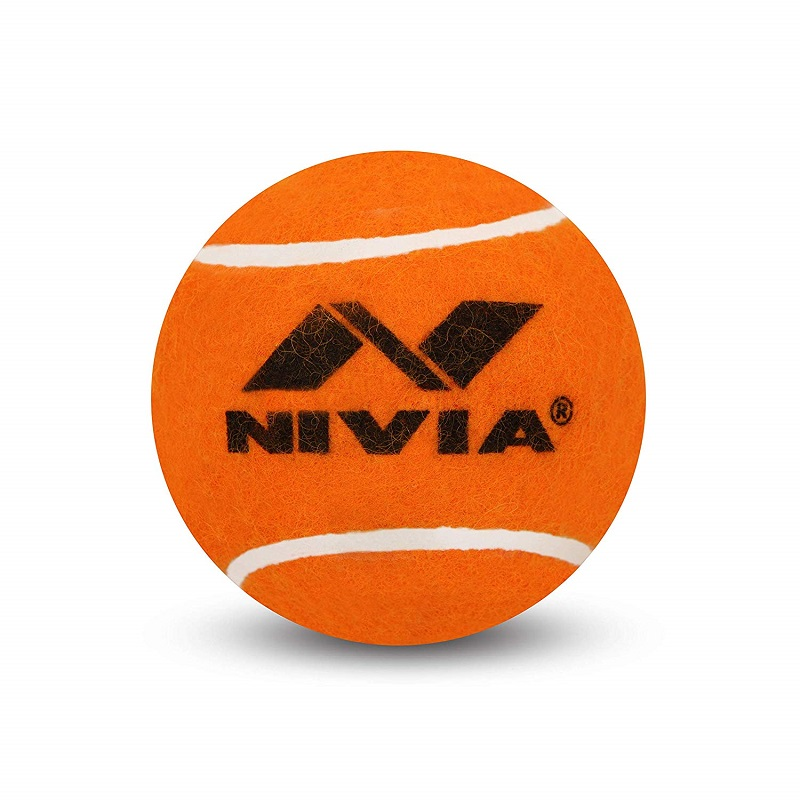 0c1d06088b7 Buy Nivia Cricket Tennis Balls(Pack of 1)(12 Balls)(Orange Heavy ...