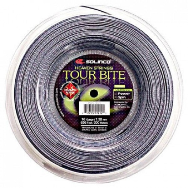 Solinco Tour Bite Diamond Rough Tennis String 200m Reel
