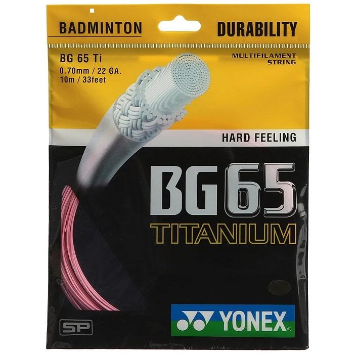 Yonex BG 65 Titanium Badminton String (Multi Color ...