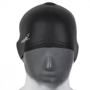 MAGFIT PLAIN SILICONE CAP (UX) - BLACK-P5