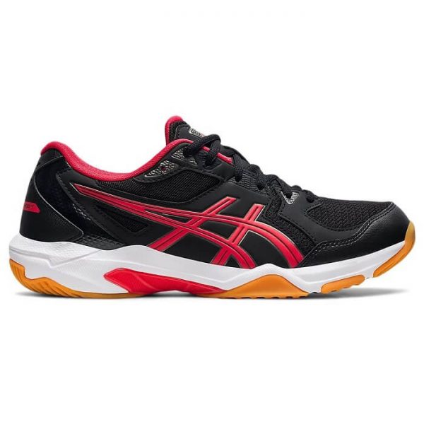 Asics-Gel-Rocket-10-Badminton-Shoes-Black-Electric-Red